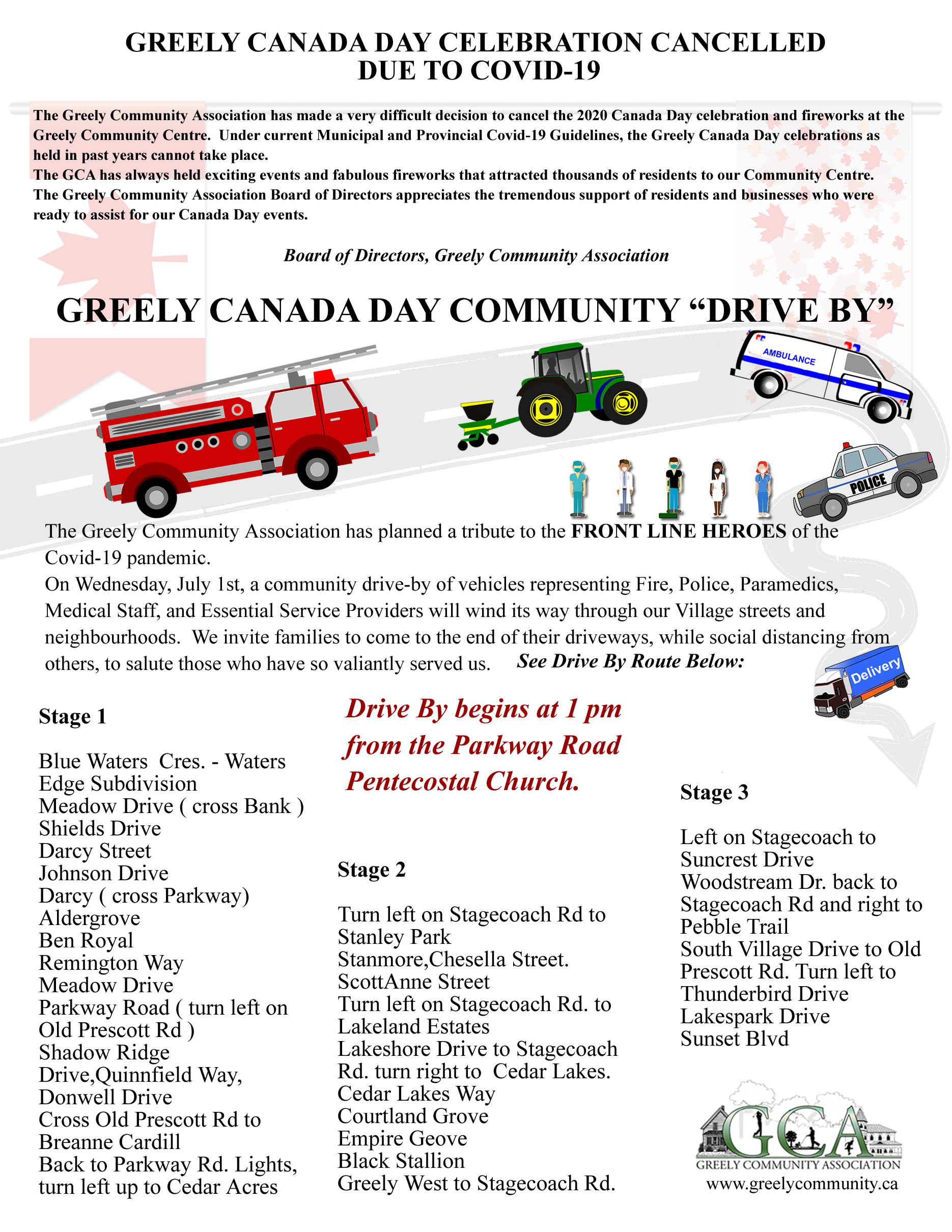 Canada Day in Greely 2020